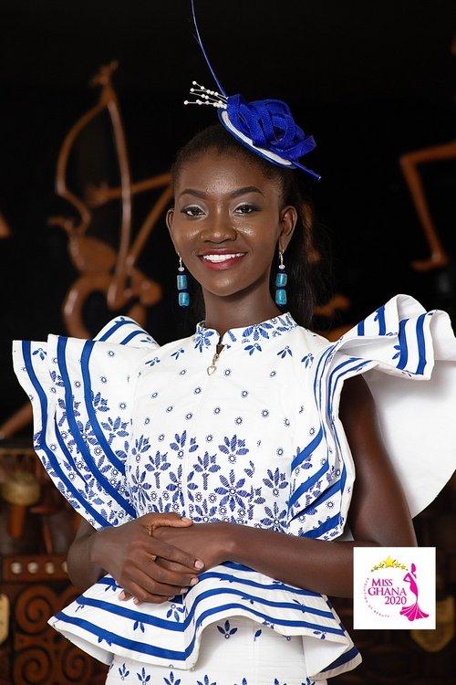 candidatas a miss ghana 2020. final: 21 de agosto. 1