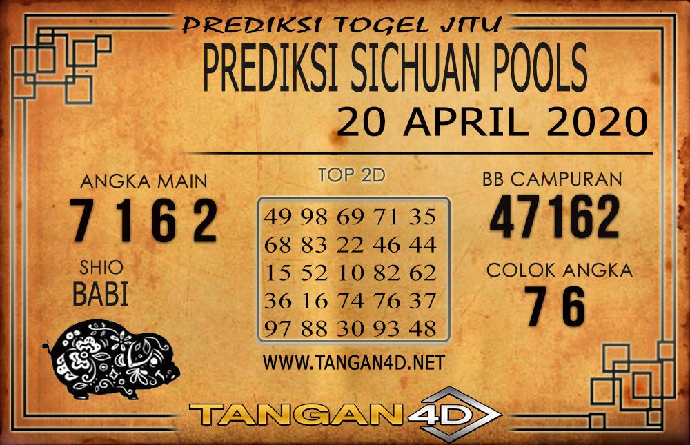 PREDIKSI TOGEL SICHUAN TANGAN4D 20 APRIL 2020