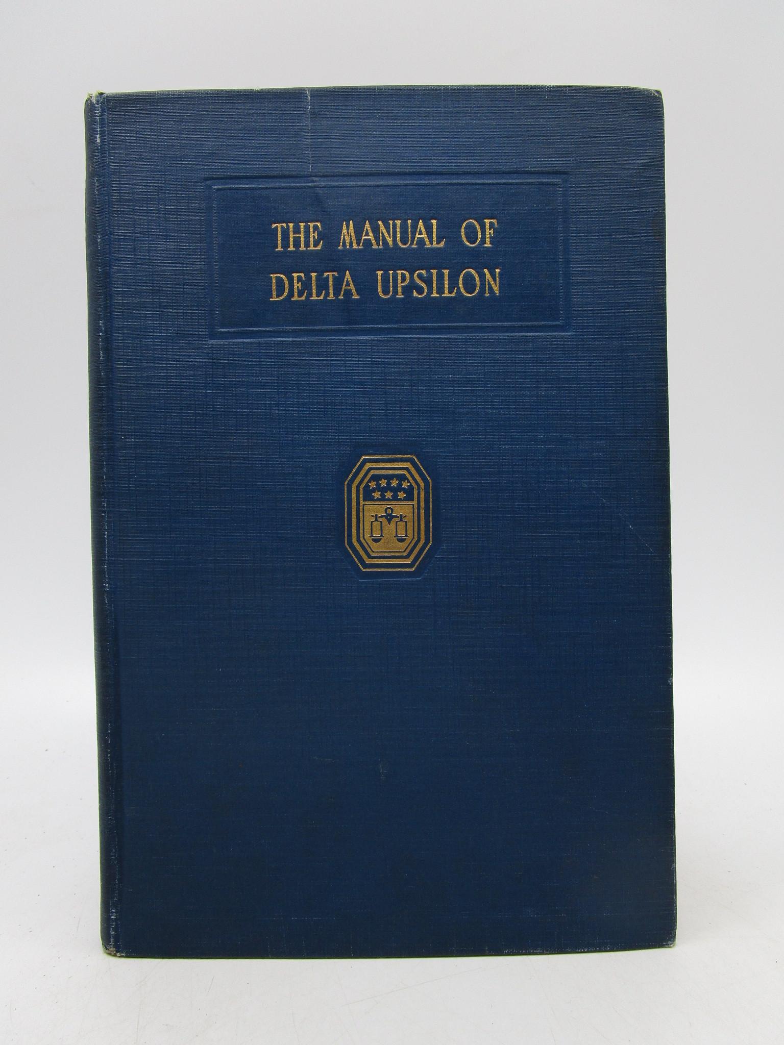 Image for The Manual of Delta Upsilon