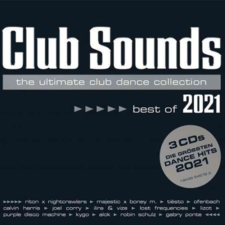 Club Sounds Best Of 2021 [3CD] (2021) MP3