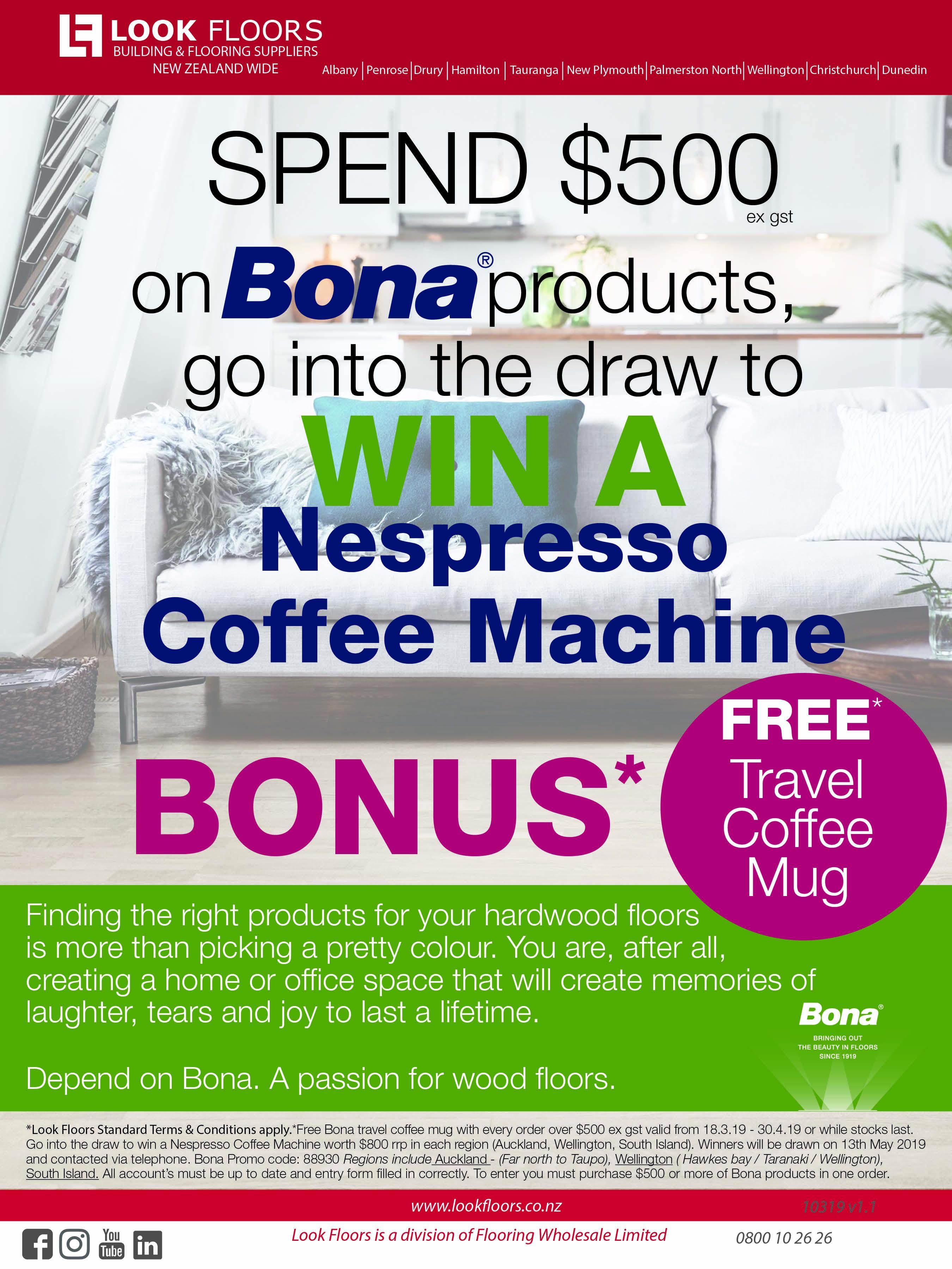 Bona Coffee Promotion