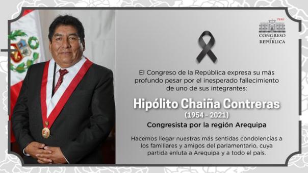 mesa-directiva-expresa-sus-condolencias-tras-fallecimiento-del-legislador-hipolito-chaina-por-coronavirus