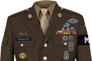 Operation Veghel Awards Sgt-sekulich