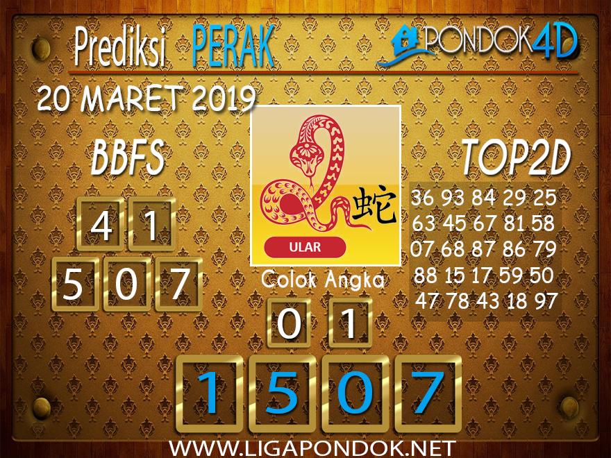 Prediksi Togel  PERAK  PONDOK4D 20 MARET 2019