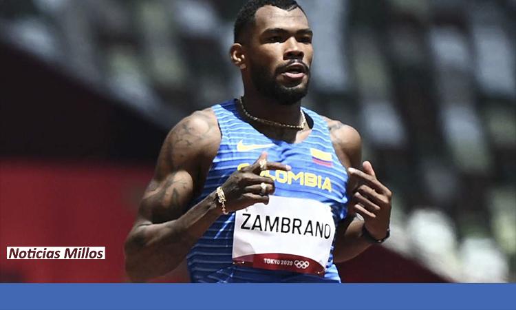 ¡ORGULLO COLOMBIANO! Anthony Zambrano ganó plata en los 400 metros planos en Tokio 2020