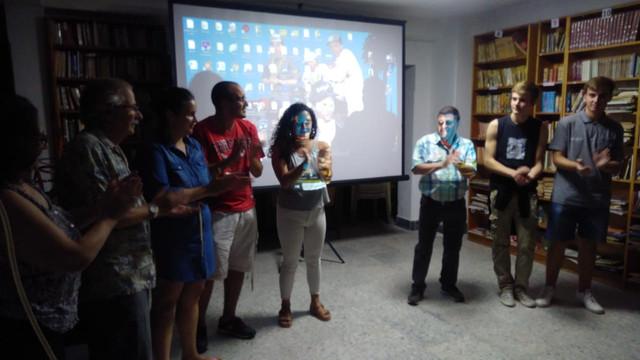 Locales: Biblioteca: Muestra de los Talleres de Fotografía y Audiovisuales