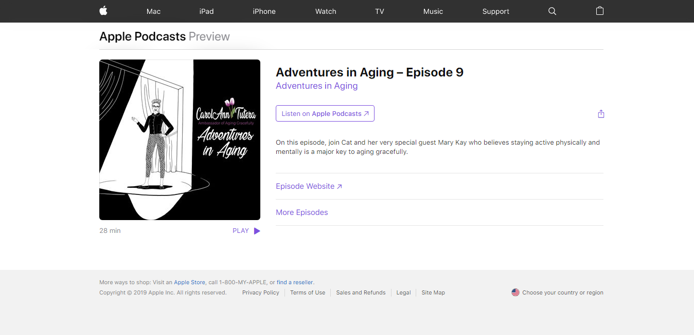 The Adventures in Aging travel product recommended by CarolAnn Tutera on Pretty Progressive.