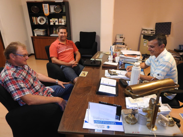Aldea San Antonio y San Juan a�nan esfuerzos para mejorar la trama vial rural