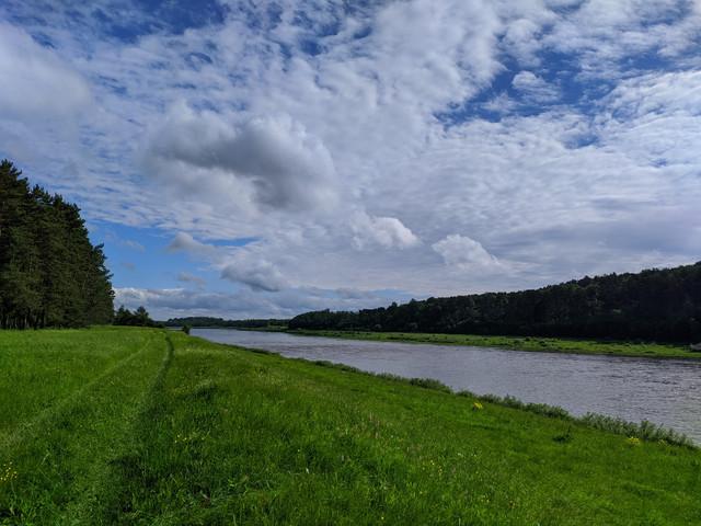 Волга в районе Матюково