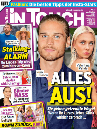 Cover: In Touch Frauenmagazin No 32 vom 04  August 2021