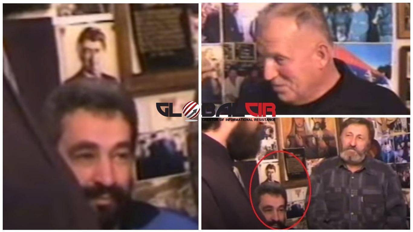 POTENCIJALNI CRNOGORSKI PREMIJER NA DOČEKU ČETNIČKOG TERORISTE NIKOLE KAVAJE! Zdravko Krivokapić na četničkoj svetkovini ispod Karadžićeve slike dočekuje teroristu osuđenog u SAD-u!