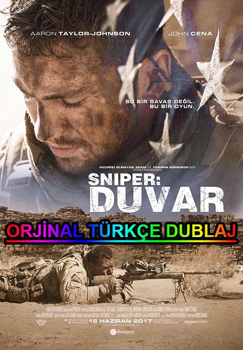 Sniper: Duvar | The Wall | 2017 | BDRip | XviD | Türkçe Dublaj | m720p - m1080p | BluRay | Dual | TR-EN | Tek Link