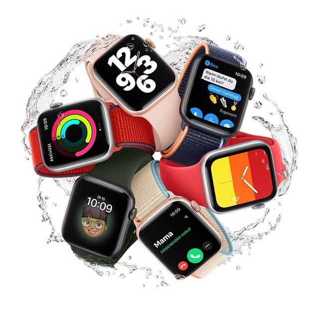 Apple Watch wasserfest