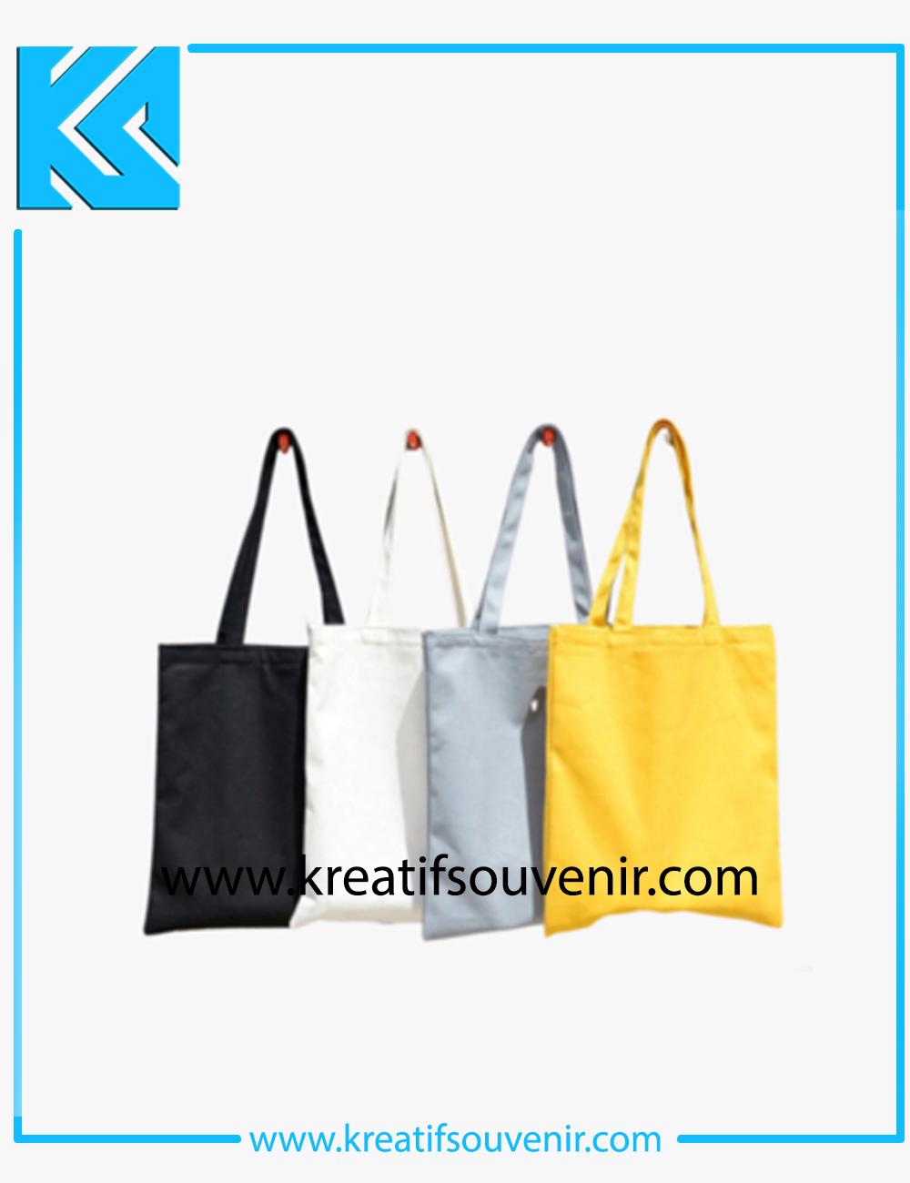 Tote Bag Kanvas Custom Logo – Cheap