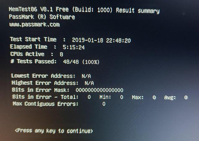 fails running RAM 3Ghz XMP profile, 9900K and Z390