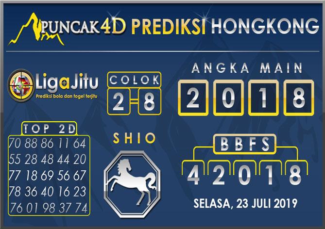 PREDIKSI TOGEL HONGKONG PUNCAK4D 23 JULI 2019