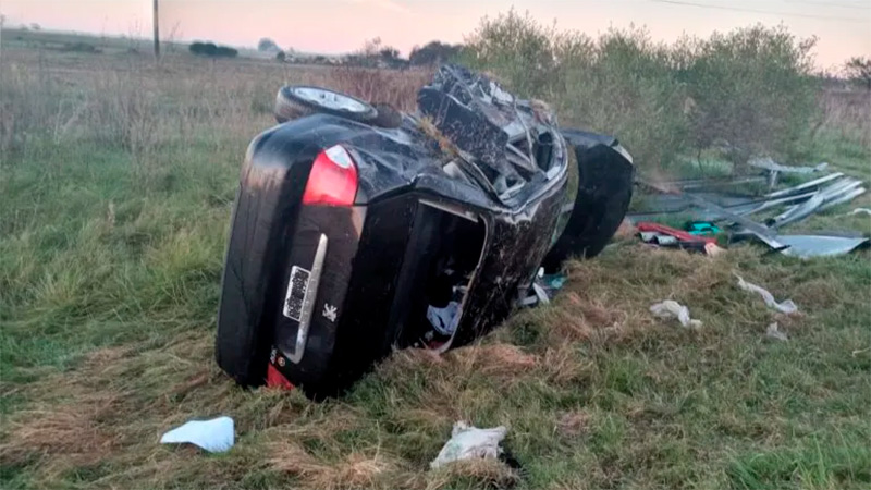 Trágico accidente en el cruce de las rutas 12 y 131: falleció un hombre de 37 años
