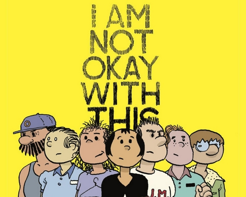 "HQ de ""I am Not Okay With This"" será publicado no Brasil"