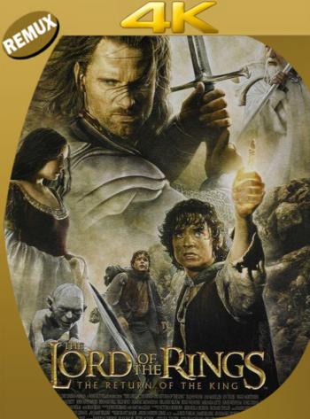 El señor de los anillos: El retorno del rey (2003) EXTENDED BDRemux [2160p 4K] Latino [GoogleDrive] [zgnrips]