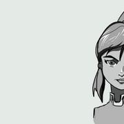 Avatar-Korra-estilo-disney-escala-grises
