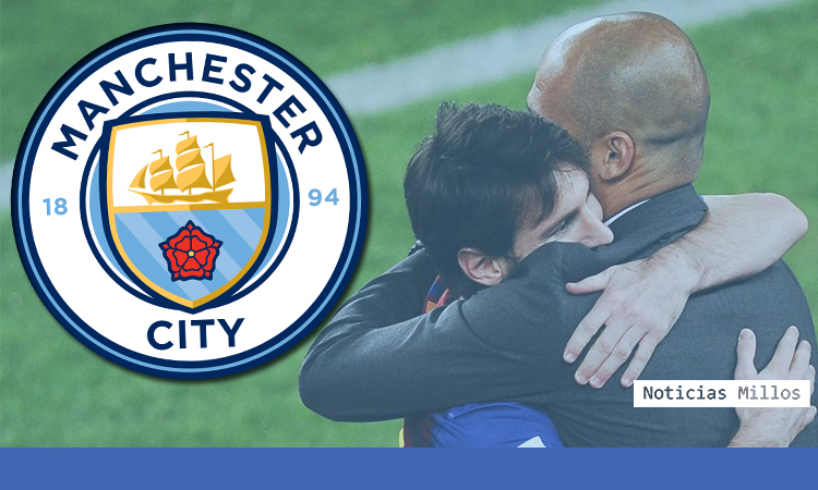 Messi Manchester City