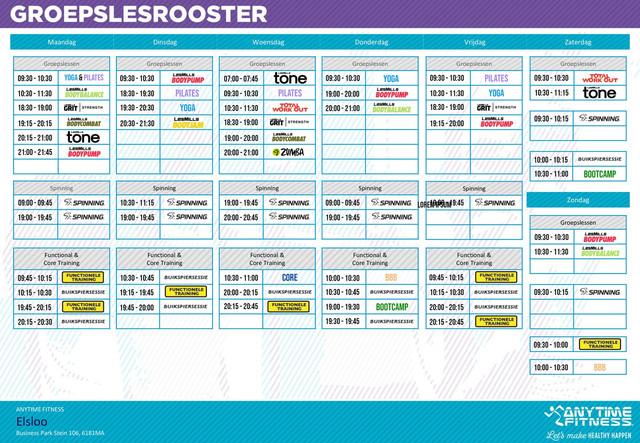 Groepslesrooster-Anytime-Fitness-Elsloo