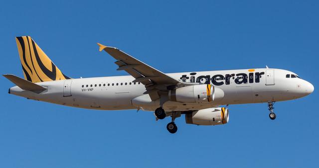 Tigerair A320 VH VNP 180318