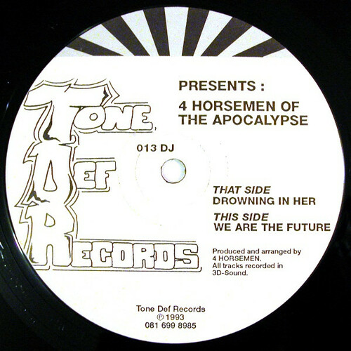 4 Horsemen Of The Apocalypse - Drowning In Her / We Are The Future