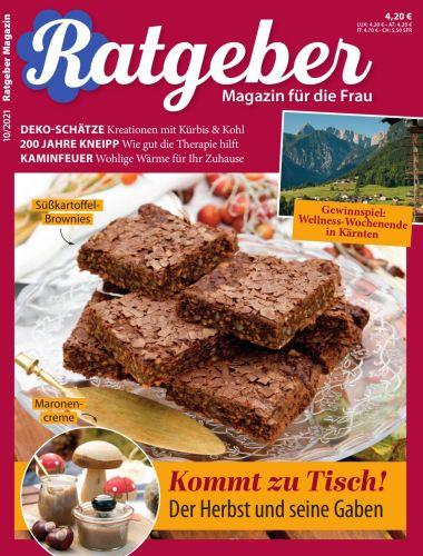 Cover: Ratgeber Magazin für die Frau No 10 2021