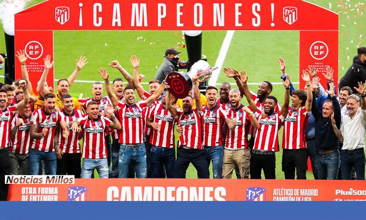 Atlético campeón 2021