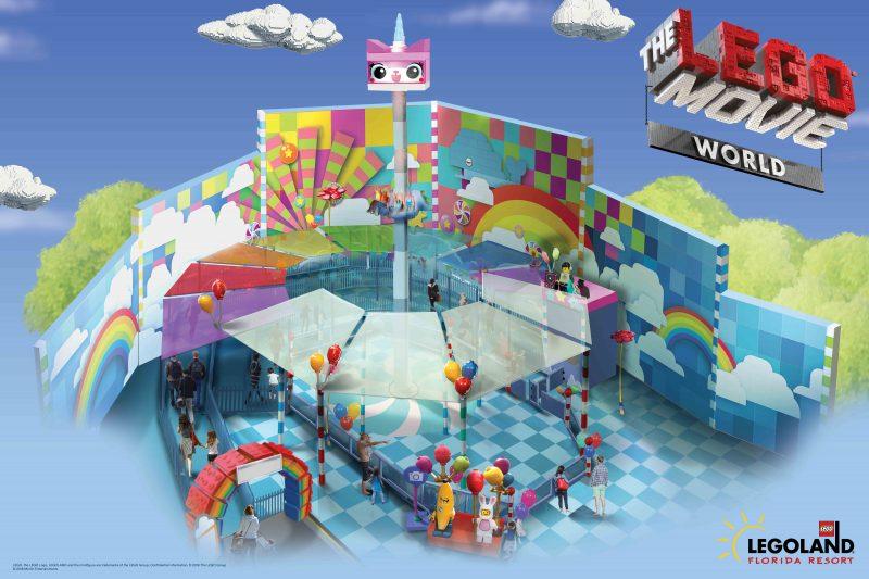 THE LEGO MOVIE WORLD at LEGOLAND Florida