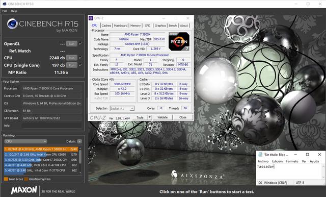 Enseña el rendimiento de vuestra CPU con Cinebench R15