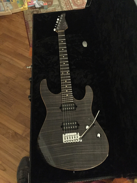 Suhr Owner s Gallery :: First Suhr - Modern Custom at home - feels incredible!
