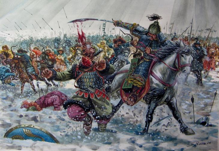 Tatar-Mongol yoke