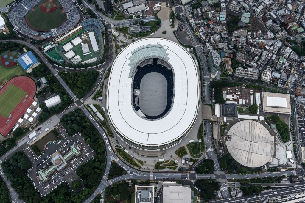 TOKYO-JAPAN-JUNE-26-The-Tokyo-Olympic-St