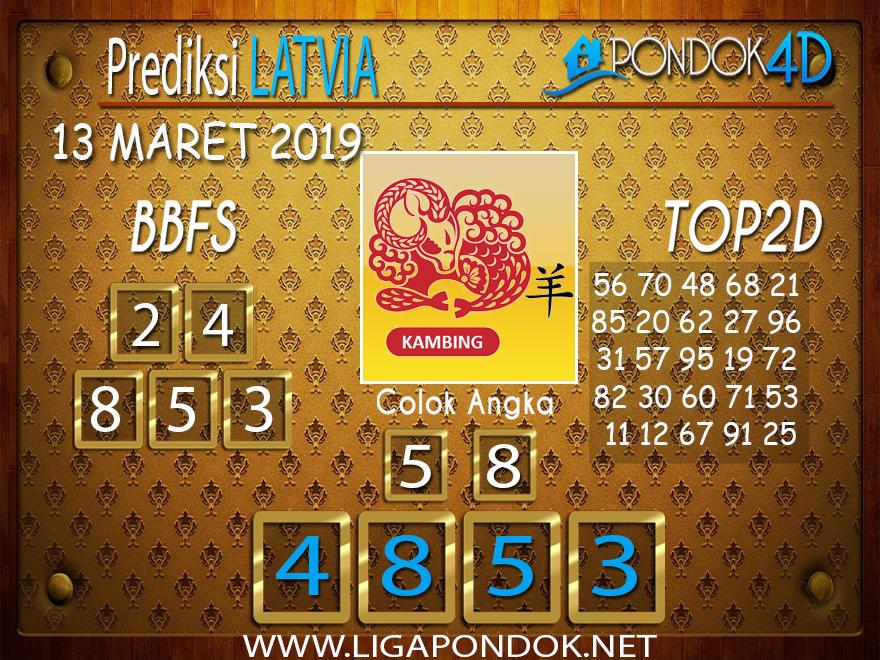 Prediksi Togel LATVIA PONDOK4D 13 MARET 2019