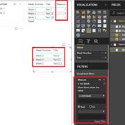 Filter maximum value of column by default else filter based on slicer selection