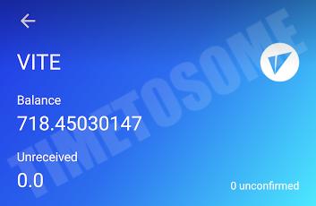 OPORTUNIDADE [Provado] Vite Wallet - Nova carteira com tokens Gratis - Android/iOS - (Actualizado em Junho de 2019) - Página 2 Lastviitee