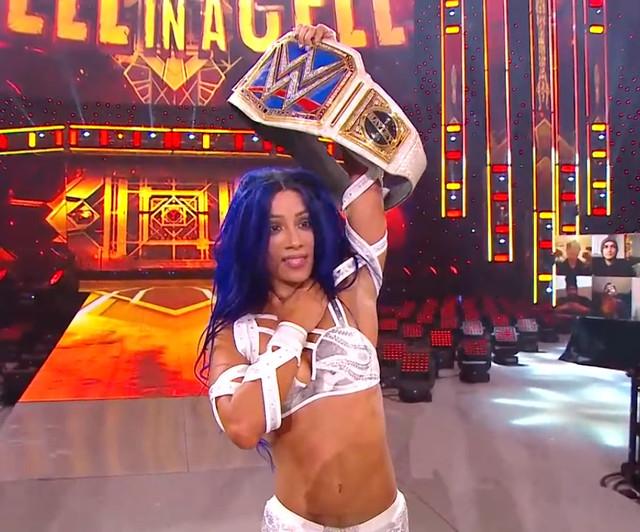 Sasha Bank Campeona de SmackDown