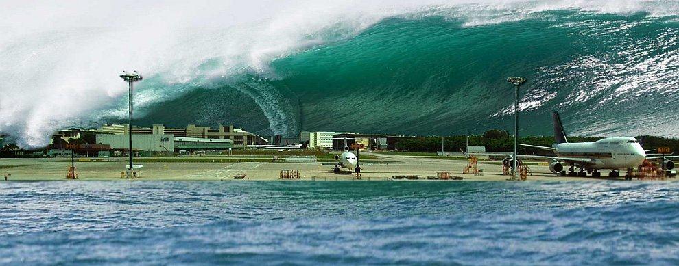 Интересные факты о цунами