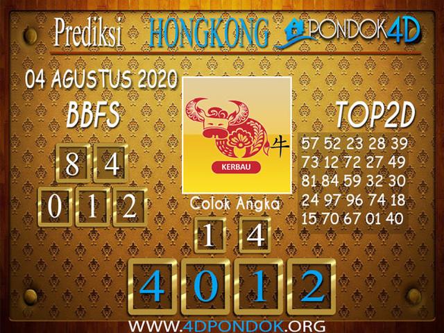 Prediksi Togel HONGKONG PONDOK4D 04 AGUSTUS 2020