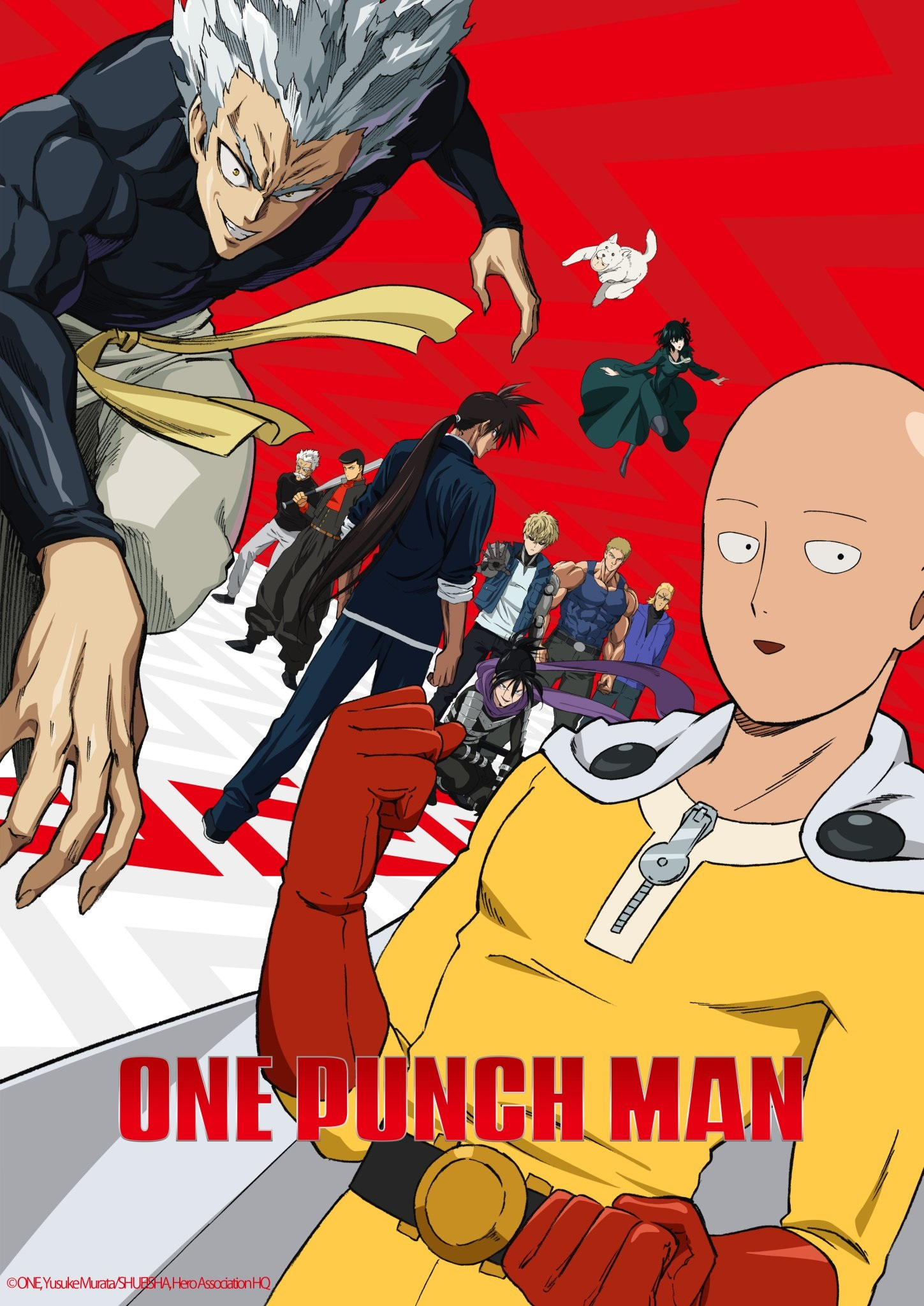 One Punch Man الموسم الثاني الحلقة 10