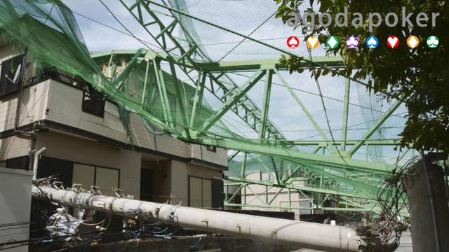 Topan Faxai Menewaskan 3 Orang di Jepang Transportasi Rusak Parah
