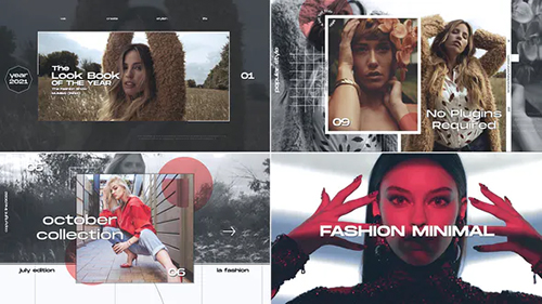 Fashion Minimal Opener 32620102 - Project for After Effects (Videohive)