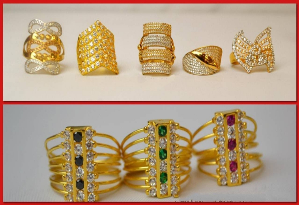 Gold Jewelry Ring