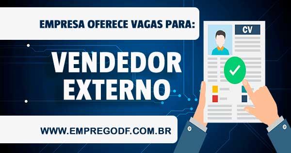 EMPREGO PARA VENDEDOR(A) EXTERNO