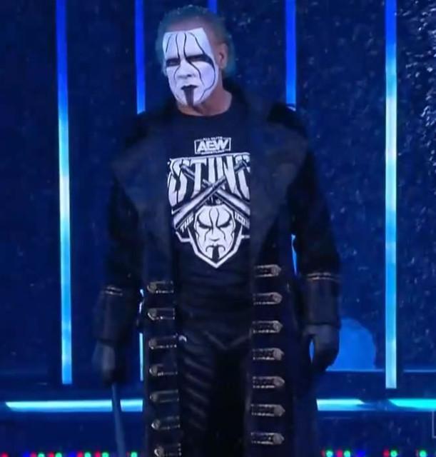 Debut Oficial de Sting en All Elite Wrestling