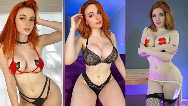 Nudes amouranth Amouranth Bare