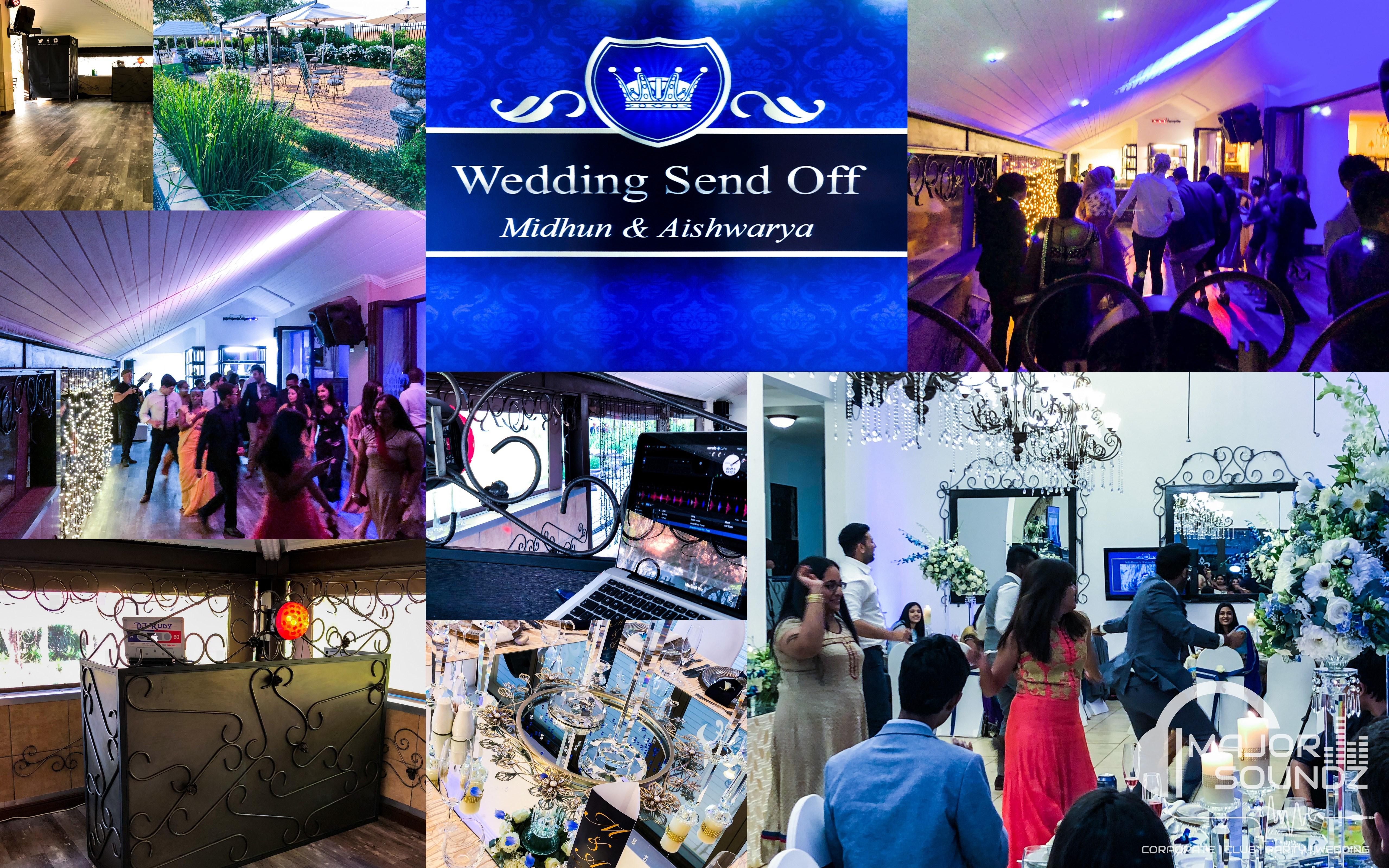 Midhum & Aishwarya Wedding Send Off Party