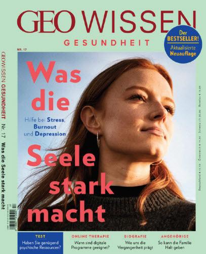 Cover: Geo Wissen Gesundheit Magazin Psyche No 17 2021